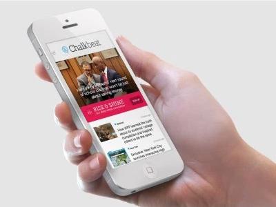 Chalkbeat development mobile design web design