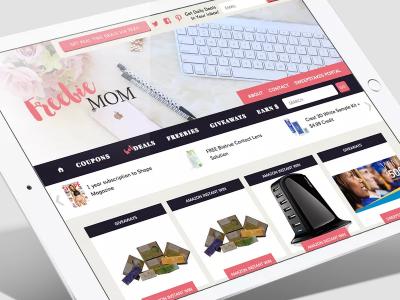 Freebie Mom development mobile design web design