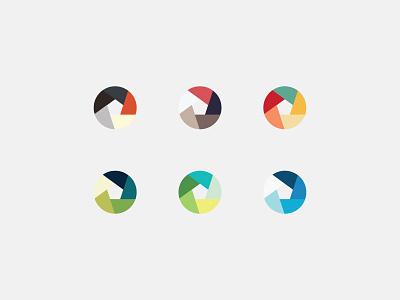 Colour Palettes palette colour color branding design identity logo concept