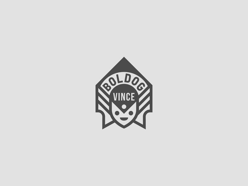 vince boldog Logo Vince Boldog by Vince Boldog   Dribbble vince boldog
