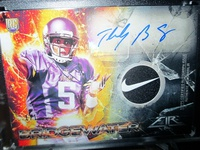 Topps Fire Rookie Autographed Patches