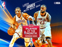 NBA Player of the Month - March - Digital Artwork