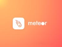 Meteor - an iOS app concept