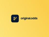 Logo and icon design for original.odds.