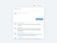 Introducing Comments in Ravelin