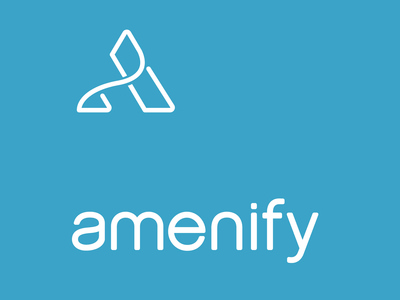 Amenify Logo blue square