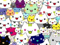 (23/100) Superflat Cats