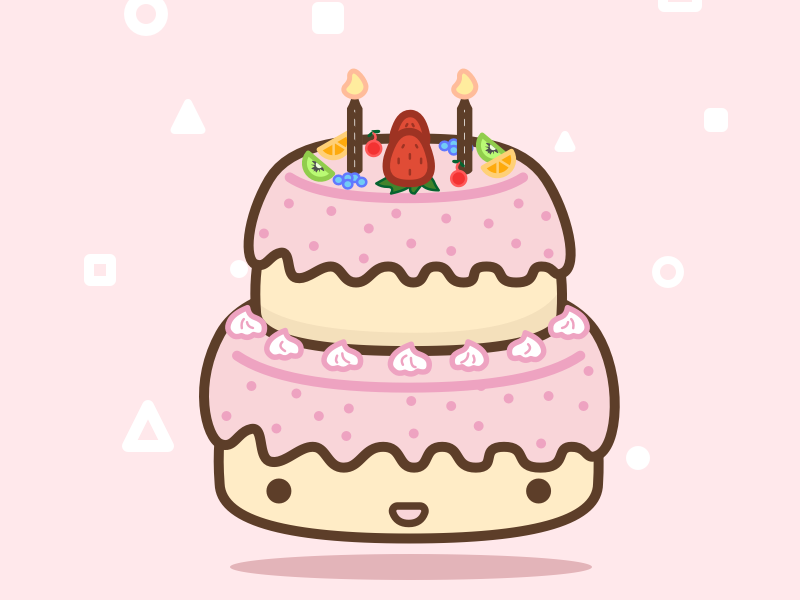 Wondrous 29 100 Birthday Cake By Stephen P Moran On Dribbble Personalised Birthday Cards Arneslily Jamesorg