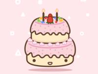 (29/100) Birthday Cake