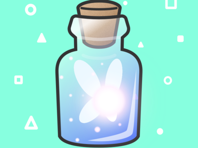 (30/100) Fairy Bottle
