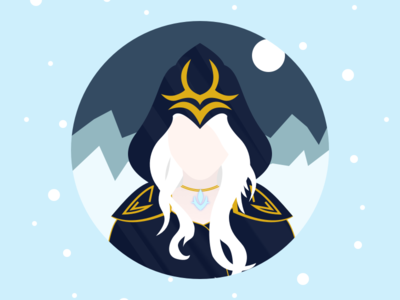(32/100) Frost Archer Ashe from League of Legends