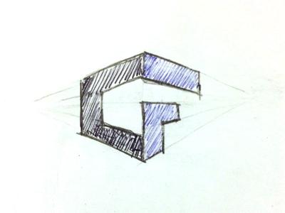 Logo Concept - CF