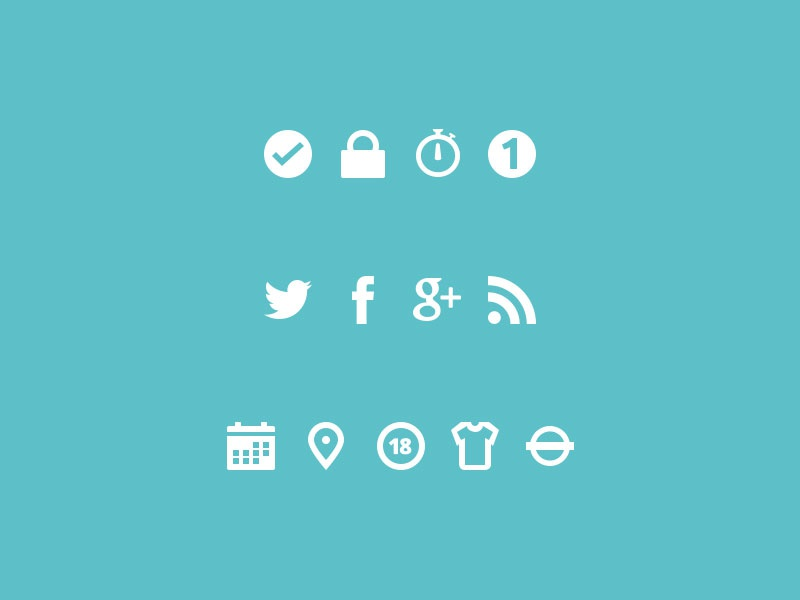 Chillitickets icons