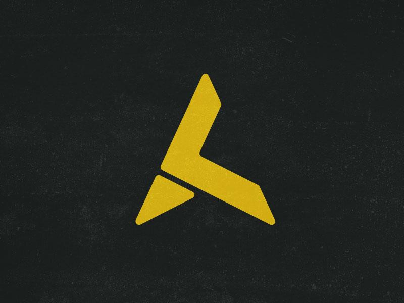 Branding logo and website refresh for 2016 may1reboot gold black yellow ak initials icon logomark logo