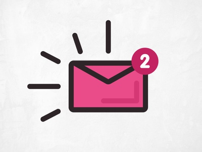 Dribbble Invite giveaway giveaway lines pink envelope invites invite