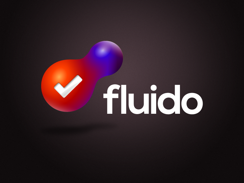 Fluido logo dark