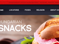 Sandwich Bar Website Teaser