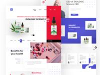 CBD Product Landing Page
