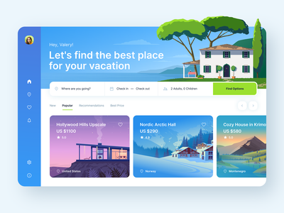 Travel Web App product design webdesign tourism nature interface hotel illustration ux ui design application web app app vacation trip lifestyle travelling booking flight travel adventures