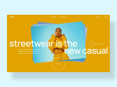 Fashion e-commerce gallery colorful colors fashion clothes clothing brand streetwear ecommerce online store online shop webdesign ux ui grid typography website web animation slider ui animation first screen
