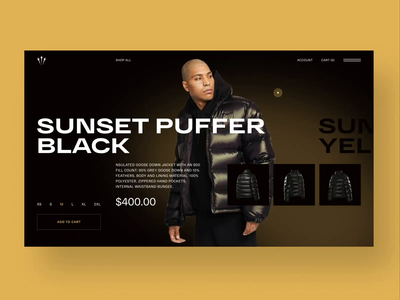Nocta website concept web animation interaction concept nike drake nocta hero image ui animation typography grid ui ux webdesign online shop online store ecommerce streetwear clothing brand clothes fashion