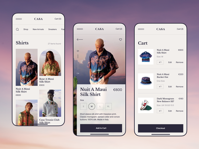 Fashion Store Mobile Version fashion design product page mobile product modern minimal layout interface webdesign checkout typography mobile version ui ux online shop online store ecommerce clothing brand clothes fashion