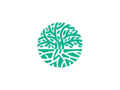 Tree Logo Mark litvinenko studio inspiration creative corporate style brand identity graphic design logo design leaf logo eco logo green logo circle tree circle logo tree sign tree mark tree logo