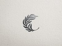Palm leaf logomark