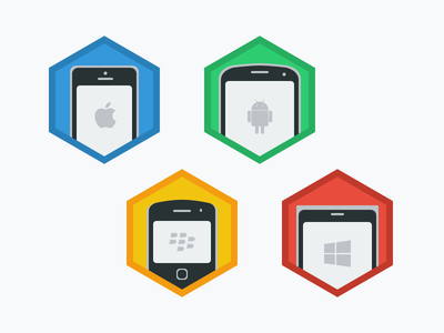 Mobile Flat Icon icon mobile flat ios android blackberry windows