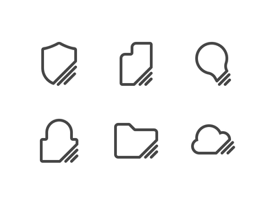 Icon Experiment shape outline experiment icons