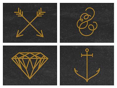 Tattoos tattoo anchor sailor diamond arrow