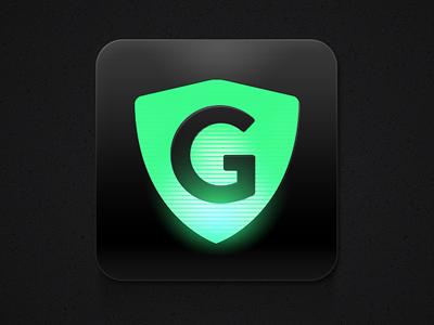 G-spot g spot icon app shield coat