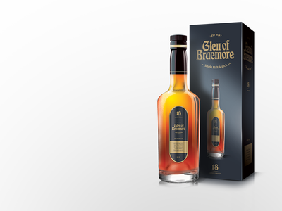 Whiskey Branding and Packaging scotch expensive whiskey logo packaging liquor branding