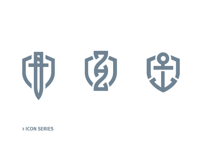 Icon Series minimalistic army navy science military line icon