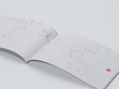 Leica Brandbook map camera leica booklet book branding