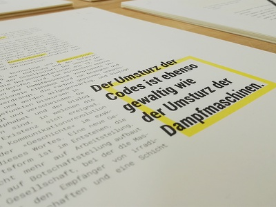Philosophy Magazine print typography magazine flusser editorial