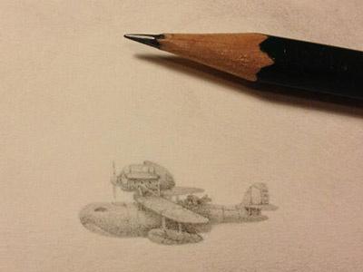 Porco Rosso - Tribute charles santosopencilgroupshow art illustration
