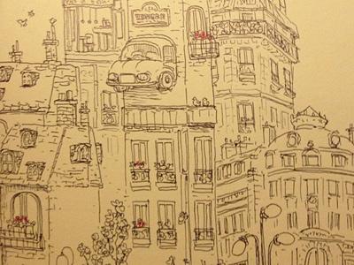 Lines from my trip sketchbook charles santoso sketch pen