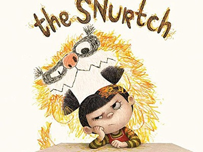 The Snurtch picture book charles santoso bookcover kidlitart kidlit thesnurtch