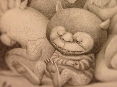 The Wild Things charles santoso illustration pencil sneakpeek