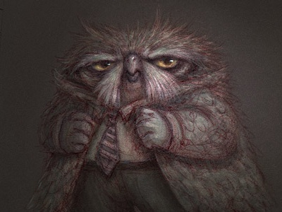 Owl detective colours
