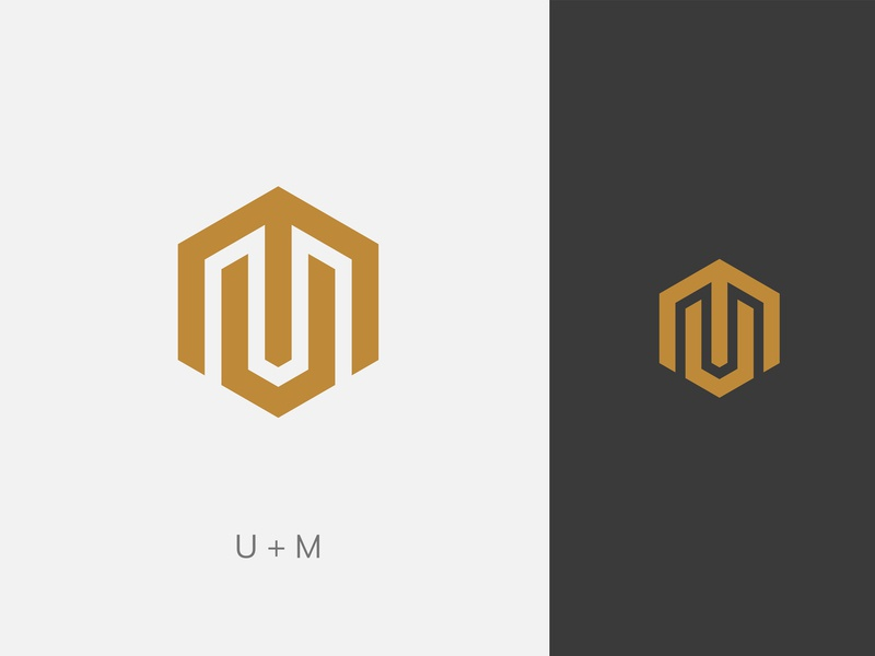 Daily Logo #1. Logomark U + M.