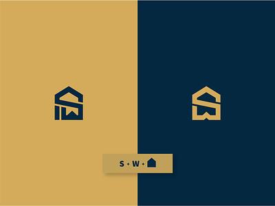 SW Logo Concept vunginsaigon design identity  mark  symbol identity businesslogo brand branding typography type mark logo