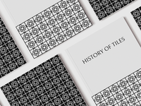 HISTORY OF TILES (cover book design)