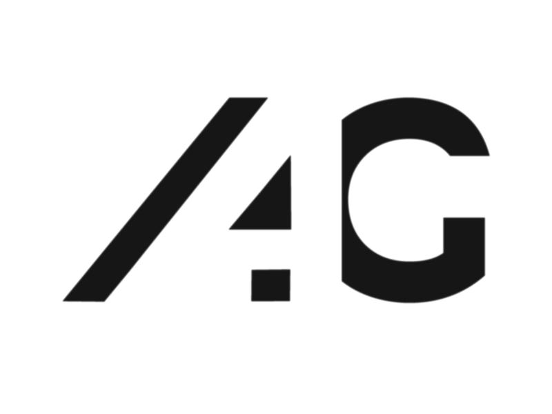 Logo Variant for A4G streamer streaming live vector design symbol letter graphic identity designer attic letterlogo logotype gaming branding logo