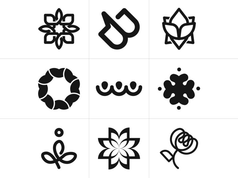 My favorite LOGOS of 2019 graphics monograms icon 2019 graphic symbol identity logotype designer logo branding vector design