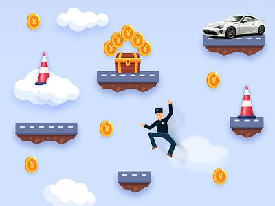 A Mini-Game Illustration game illustration