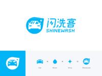 Shinewash logo 2x
