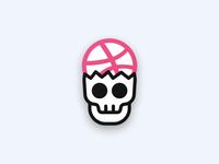 Dribbble Head Skull