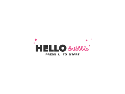 Hello Dribbble! first shot dribbble design first shot